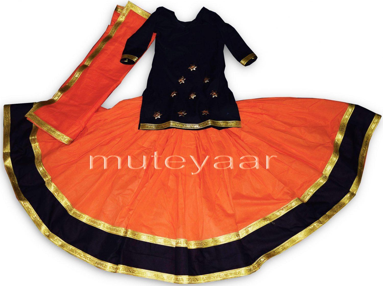 Custom made Lehenga for Giddha - Costume outfit dance dress 1