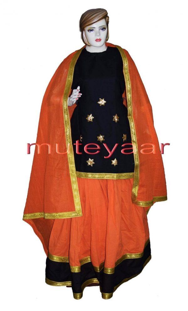 Custom made Lehenga / Ghaghra GIDDHA Costume outfit dance dress