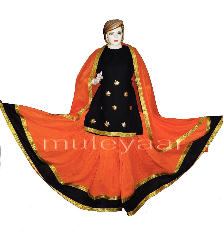 Custom made Lehenga for Giddha - Costume outfit dance dress 3