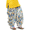 Printed Full Patiala Salwar Limited Edition 100% Pure Cotton PPS271