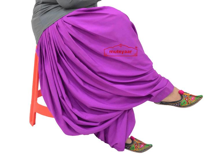 Crepe Maharani Patiala Salwar Custom Stitched from Patiala City 2