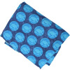 Blue Dots allover print Pure cotton fabric (per meter price) PC425