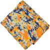 Yellow multicolour allover print Pure cotton fabric (per meter price) PC430