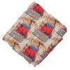 Cream multicolour allover print Pure cotton fabric (per meter price) PC434