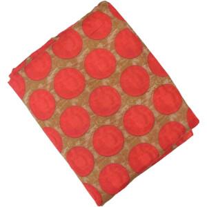 Red Dots allover print Pure cotton fabric PC439