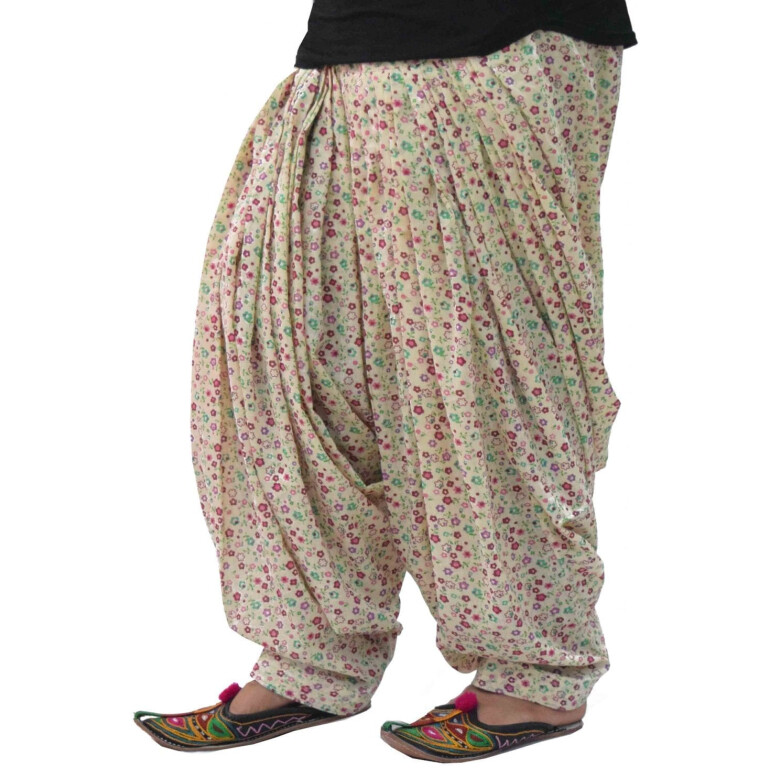 Printed Full Patiala Salwar Limited Edition 100% Pure Cotton PPS278