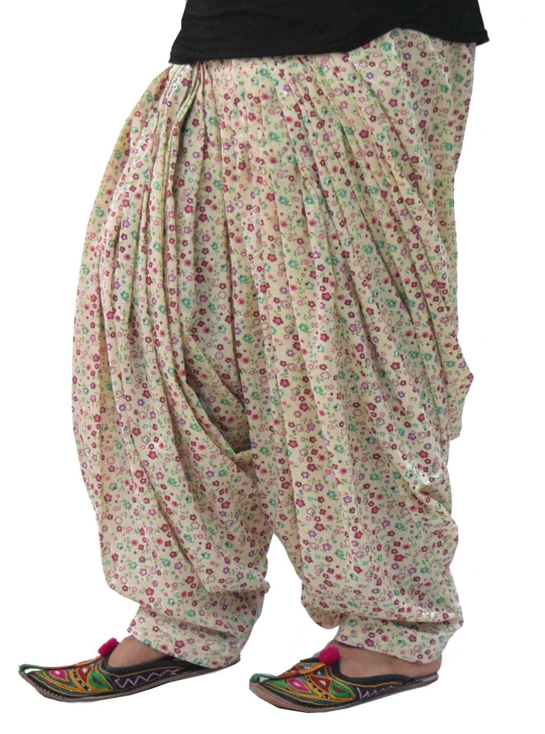 Printed Full Patiala Salwar Limited Edition 100% Pure Cotton PPS278 1