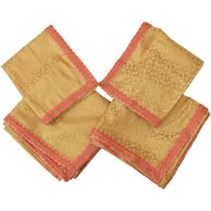 Golden Brocade Rumala Sahib for Shri Guru Granth Sahib Ji RL001