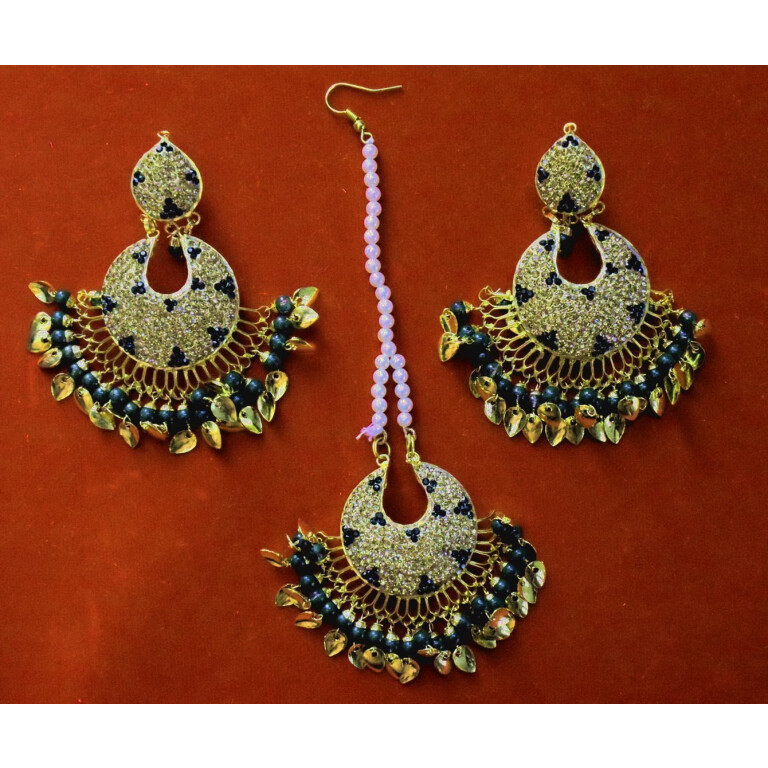 tikka earrings set J0380