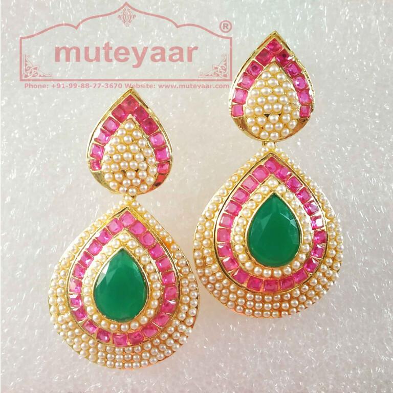 jadau earrings J0436