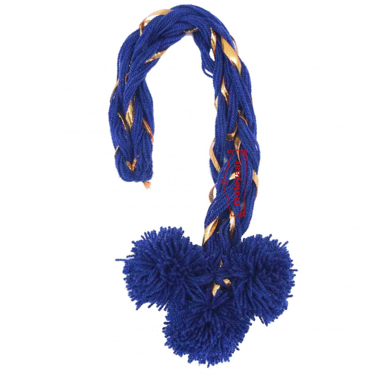 Luddi Paranda Pom Pom Tassles Hair Accesory - All Colours Available 5