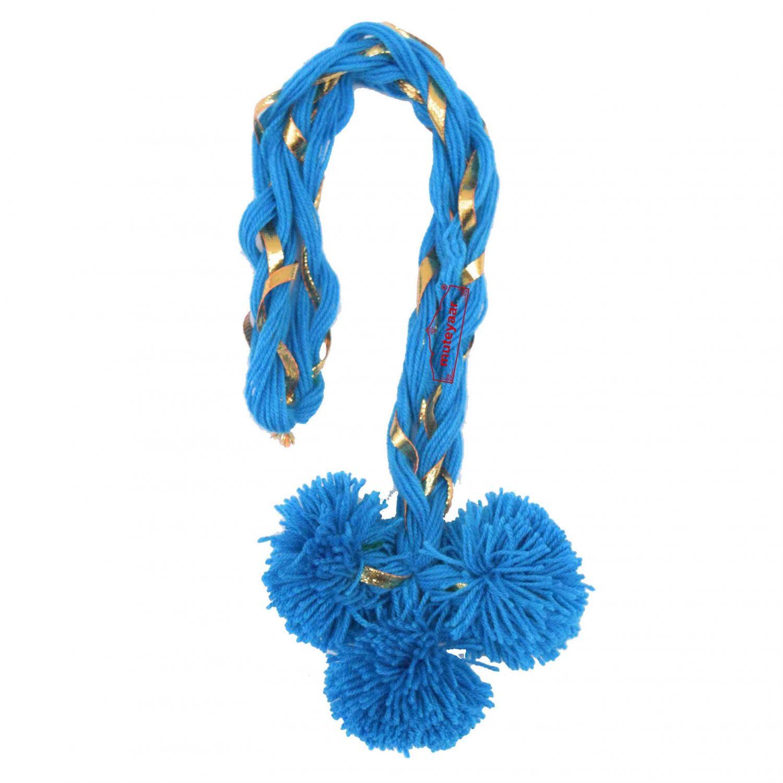 Luddi Paranda Pom Pom Tassles Hair Accesory - All Colours Available 4