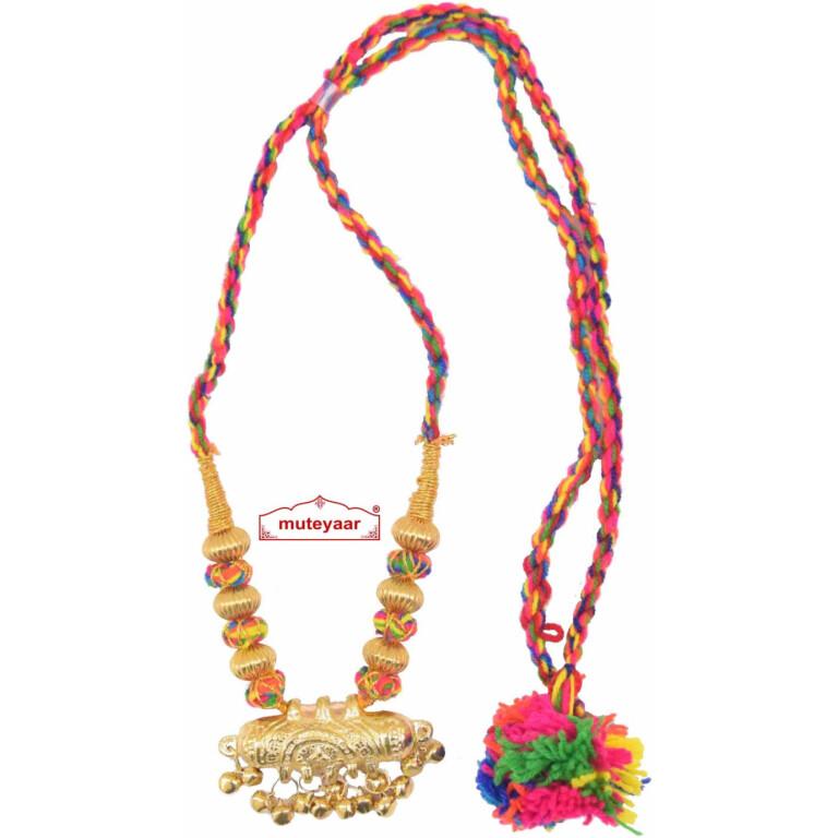 Multicolour Jugni Capsule necklace haar