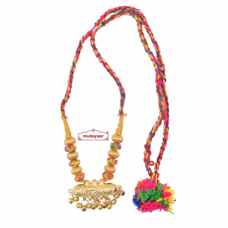 Multicolour Jugni Capsule Necklace Haar 1