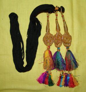 Colourful Punjabi Jalebi Paranda parandi – MANY COLOURS AVAILABLE – multicolour