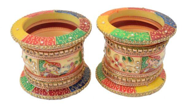 Traditional Rajasthani Chura Size 2/6 ( 2.6) CH013