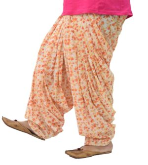 Printed Full Patiala Salwar Limited Edition 100% Pure Cotton PPS283