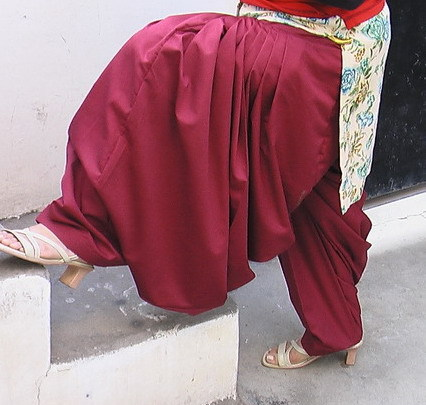 Maroon Patiala Salwar as per your size !! 1