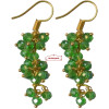 3 Step Crystal Earrings Jhumki - All colours available