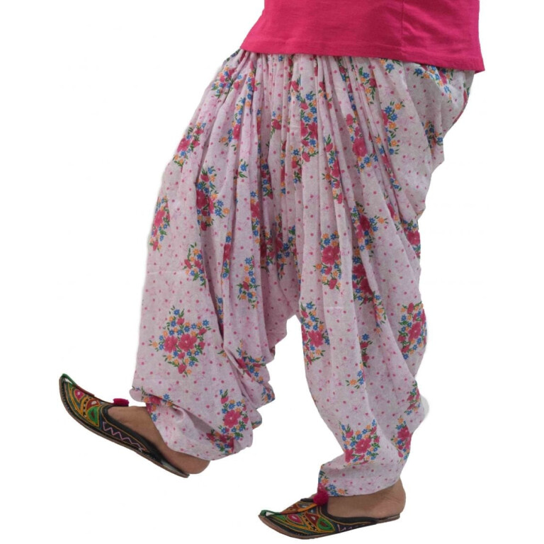 Printed Full Patiala Salwar Limited Edition 100% Pure Cotton PPS285