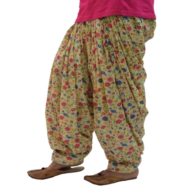 Printed Full Patiala Salwar Limited Edition 100% Pure Cotton PPS289