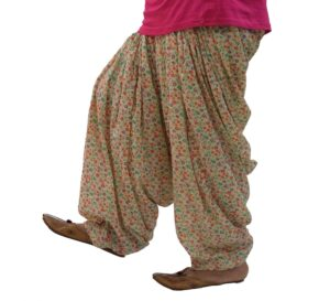 Printed Full Patiala Salwar Limited Edition 100% Pure Cotton PPS290