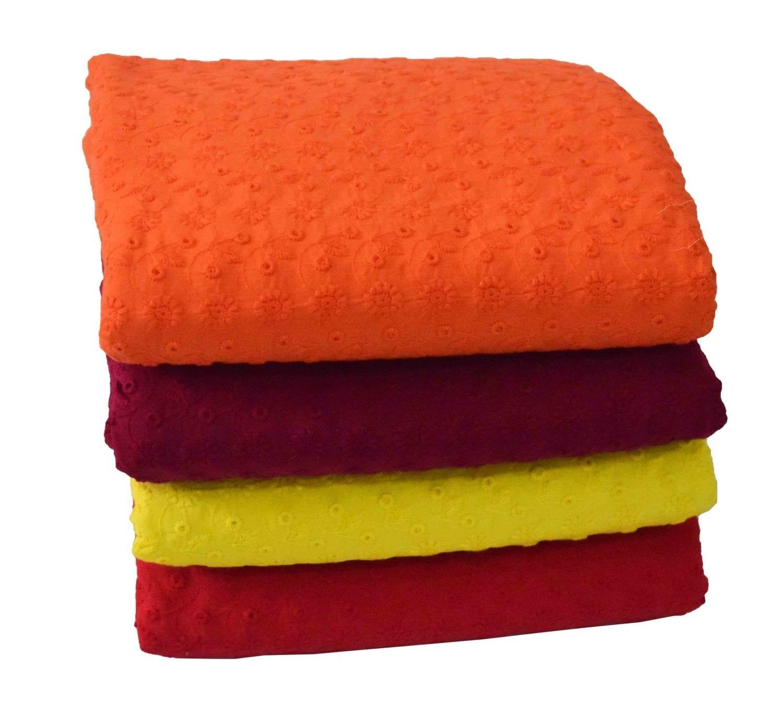 CHIKAN COTTON fabric - Soft Skin Friendly Dress Material 1