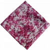 Burgundy White allover Printed 100% Pure Cotton Fabric PC460 (Price by meters)