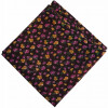 Coffee Multicolour allover Printed 100% Pure Cotton Fabric PC462 (Price by meters)