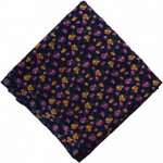 Dark Blue Printed 100% Pure Cotton Fabric PC469