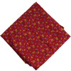 Red Printed 100% Pure Cotton Fabric PC477 (Price by meters)
