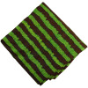 Green Brown Printed 100% Pure Cotton Fabric PC478 (Price by meters)