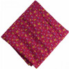 Magenta Printed 100% Pure Cotton Fabric PC479 (Price by meters)