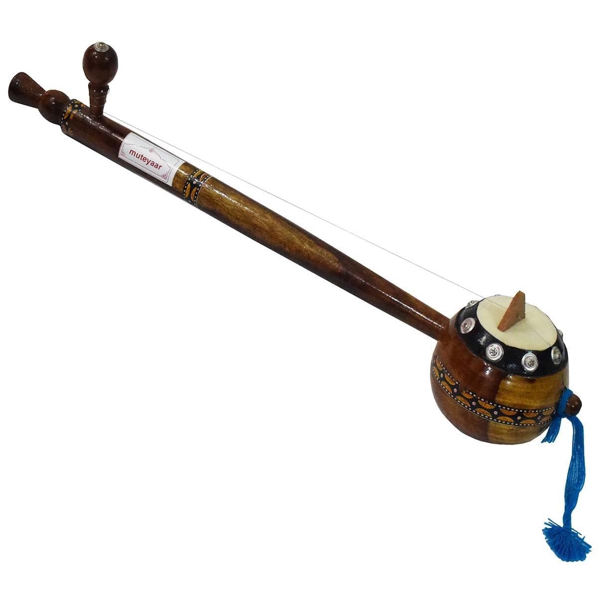 Sheesham Tumbi Handmade Punjabi Musical Instrument 1