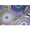 Printed Crepe fabric drapy cloth for salwar kameez (per meter price)  PAC29