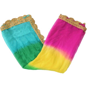 Multicolour Dupatta with Four Colors – Chourangi Dupatta