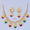 Red green dakh set J0499