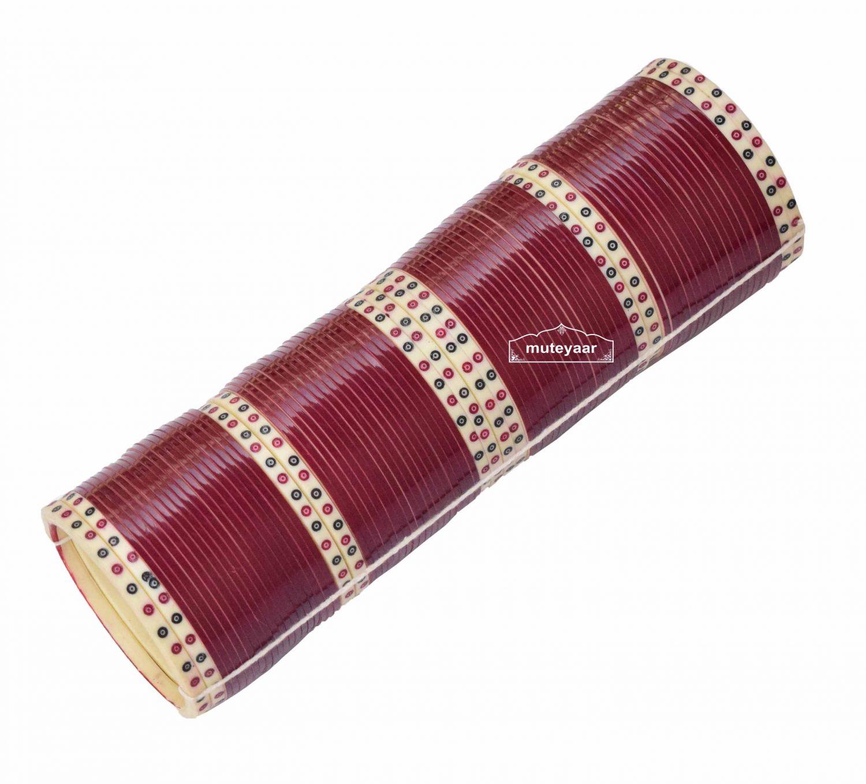 Custom made Traditional Chura for Wedding of Punjabi Bride CH001 2