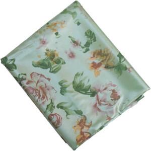 Sea Green Crepe Satin Shiny Dress Material Fabric 5 Meter Cutpiece Length CS002