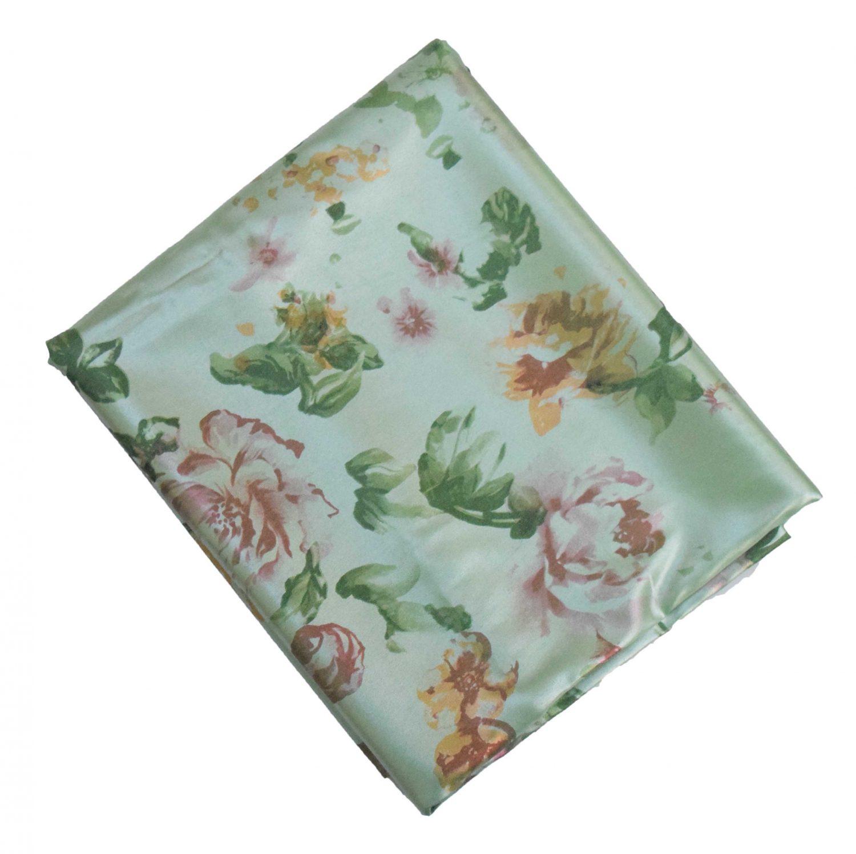 Sea Green Crepe Satin Shiny Dress Material Fabric 5 Meter Cutpiece Length CS002 1