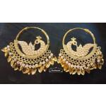 Jadau Earrings Punjabi Morni Bali Imitation Jewellery J0503