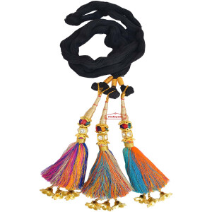 Traditional Punjabi Paranda with Multicolour tassles MULTI_SONA