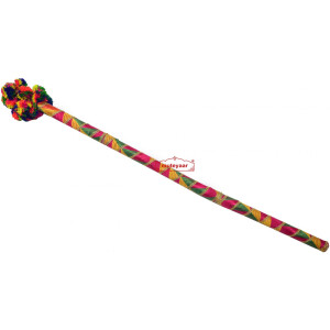 Danda for Jago with Phulkari Decoration (Folding Light Weight Plastic)