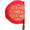 Red Embroidered tradional punjabi pakhi T0249