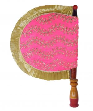 Pink Embroidered Shagan Punjabi Pakhi T0254