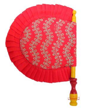 Red Shagan Pakhi for punjabi wedding T0261