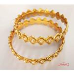 Golden Pearl Designer Bangles set BN168