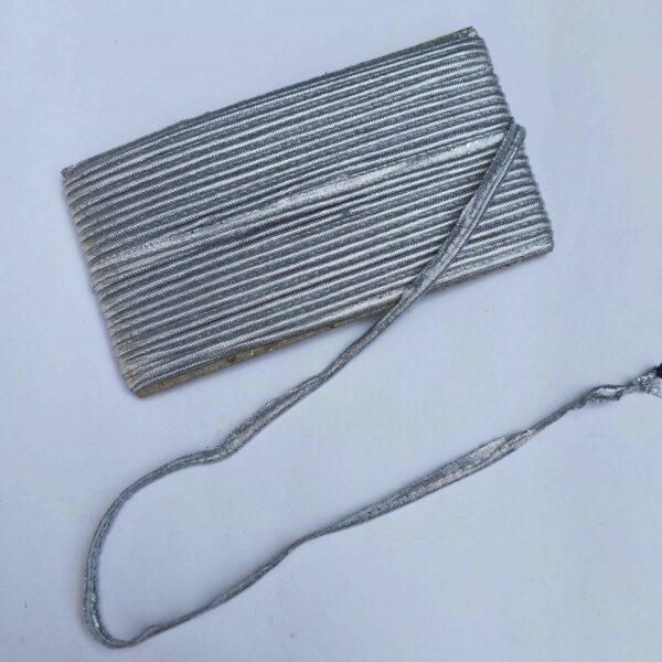 Silver Gota Piping Kinari
