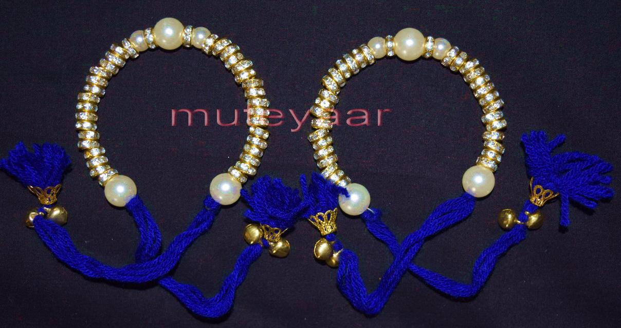 Decorative wrist band punjabi wedding gana J0133 1
