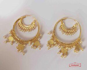 Golden Bali Earrings J0520